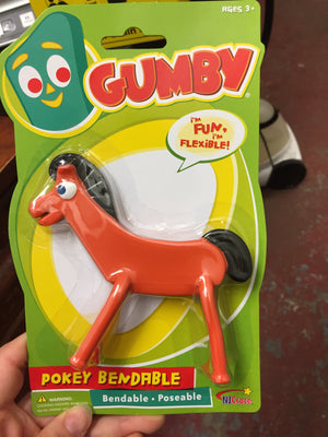 "Gumby or Pokey 6"" Individual Figurines"