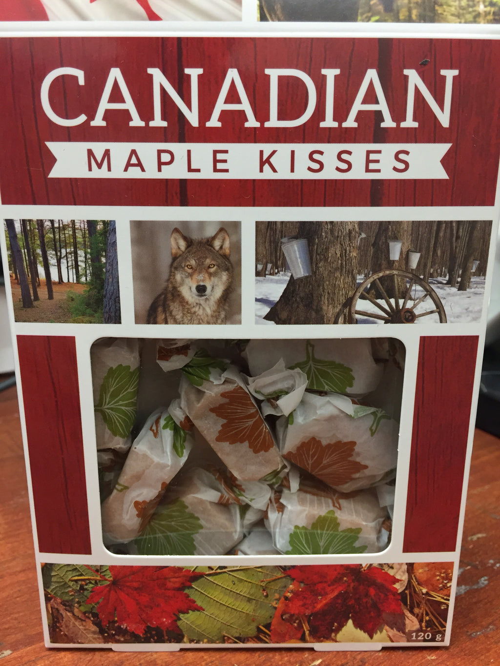 Canadian Maple Kisses