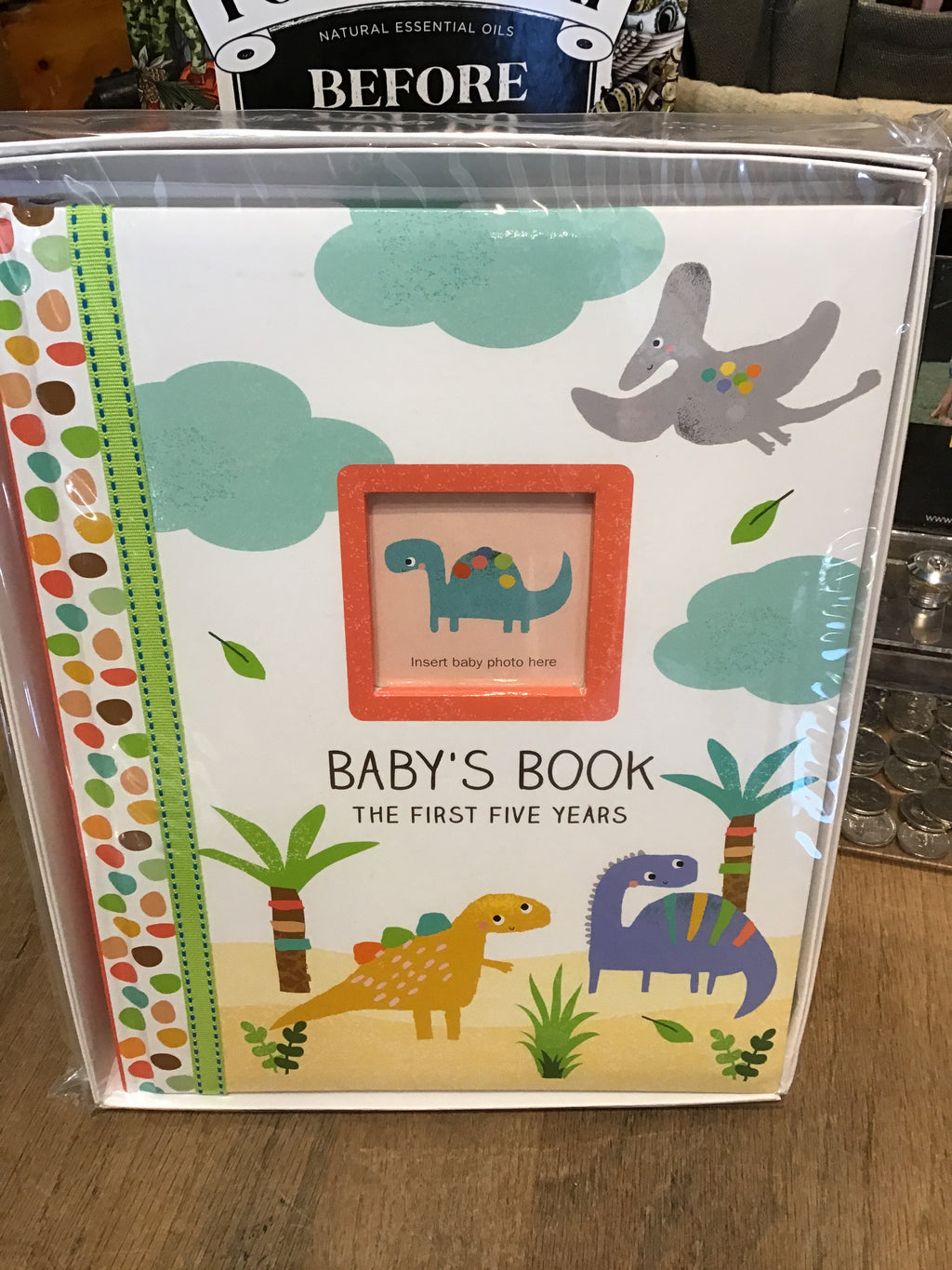 Baby's Book 5 YR Dinosaurs Lg