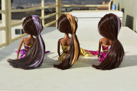 African American Mermaid Princess Dolls