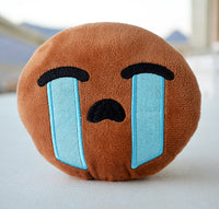 African American Emoji Pillow - Crying Tears