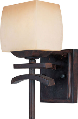 Maxim - 10996WSRC - One Light Wall Sconce - Asiana - Roasted Chestnut