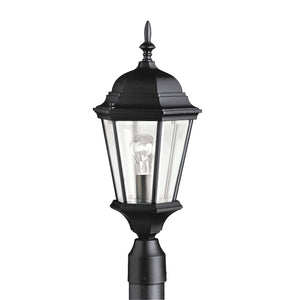 Kichler - 9956BK - One Light Outdoor Post Mount - Madison - Black