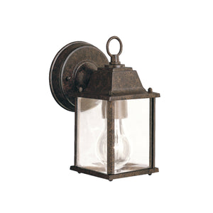 Kichler - 9794TZ - One Light Outdoor Wall Mount - Barrie - Tannery Bronze