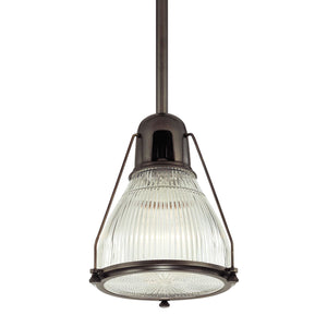 Hudson Valley - 7308-OB - One Light Pendant - Haverhill - Old Bronze