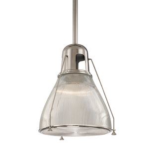 Hudson Valley - 7311-PN - One Light Pendant - Haverhill - Polished Nickel