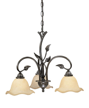 Vaxcel - CH38803OL - Three Light Chandelier - Vine - Oil Shale