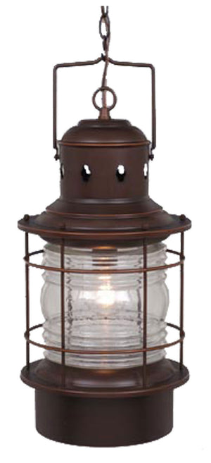 Vaxcel - OD37006BBZ - One Light Outdoor Pendant - Hyannis - Burnished Bronze