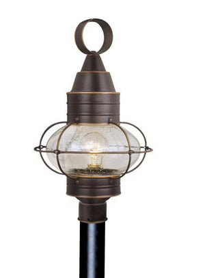 Vaxcel - OP21835BBZ - One Light Outdoor Post Mount - Chatham - Burnished Bronze