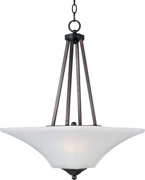 Maxim - 20093FTOI - Two Light Pendant - Aurora - Oil Rubbed Bronze