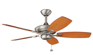 Kichler - 300107NI - 44``Ceiling Fan - Canfield - Brushed Nickel
