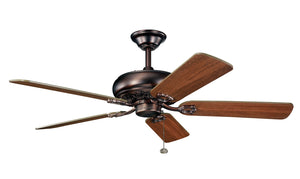 Kichler - 300118OBB - 52``Ceiling Fan - Bentzen - Oil Brushed Bronze