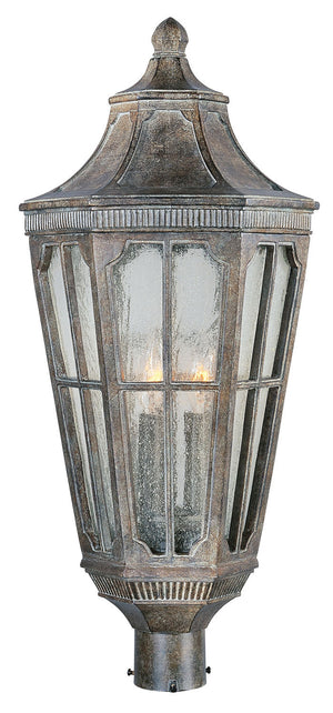 Maxim - 40150CDSE - Three Light Outdoor Pole/Post Lantern - Beacon Hill VX - Sienna