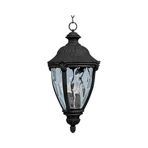 Maxim - 40291WGET - Three Light Outdoor Hanging Lantern - Morrow Bay VX - Earth Tone