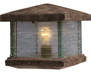 Maxim - 48736CLET - One Light Outdoor Deck Lantern - Triumph VX - Earth Tone