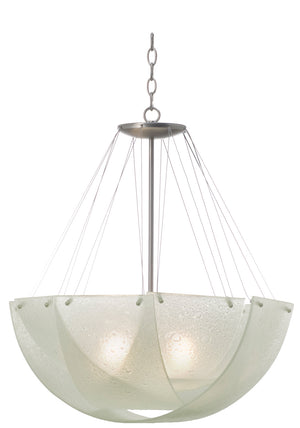 Kalco - 5098SN - Three Light Pendant - Cirrus - Satin Nickel