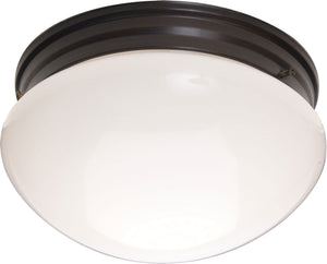Maxim - 5881WTOI - Two Light Flush Mount - Essentials - 588x - Oil Rubbed Bronze