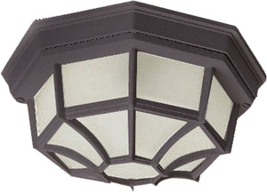 Maxim - 1020RP - Two Light Outdoor Ceiling Mount - Crown Hill - Rust Patina