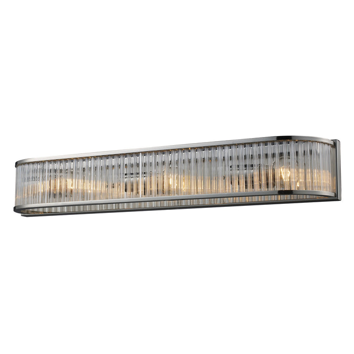 "Elk Lighting Three Light Vanity 27.50"" Polished Nickel"