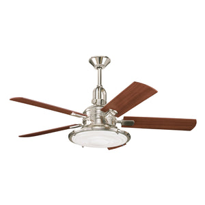 Kichler - 300020PN - 52``Ceiling Fan - Kittery Point - Polished Nickel