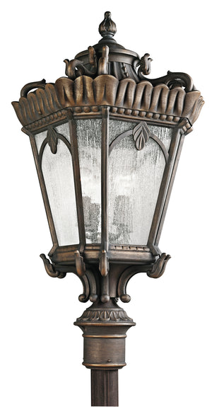 Kichler - 9565LD - Four Light Outdoor Post Mount - Tournai - Londonderry