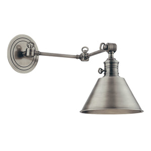 Hudson Valley - 8322-AN - One Light Wall Sconce - Garden City - Antique Nickel