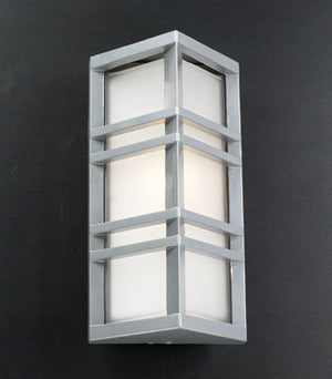 PLC Lighting - 8020 SL - One Light Outdoor Fixture - Trevino - Silver