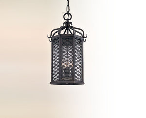 Troy Lighting - FF2378OI - One Light Hanging Lantern - Los Olivos - Old Iron