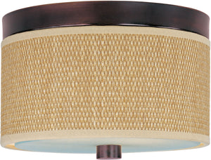 ET2 - E95000-101OI - Two Light Flush Mount - Elements - Oil Rubbed Bronze