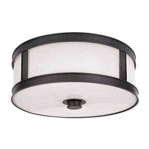 Hudson Valley - 5516-OB - Three Light Flush Mount - Patterson - Old Bronze
