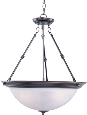Maxim - 5846MROI - Three Light Pendant - Essentials - 584x - Oil Rubbed Bronze