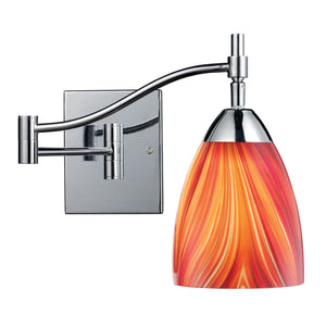 Elk Lighting - 10151/1PC-M - One Light Wall Sconce - Celina - Polished Chrome