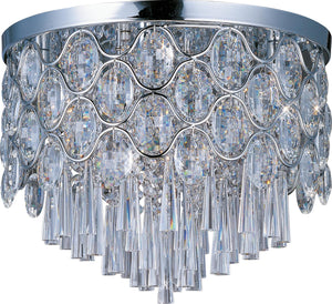 Maxim - 39920BCPC - 12 Light Flush Mount - Jewel - Polished Chrome