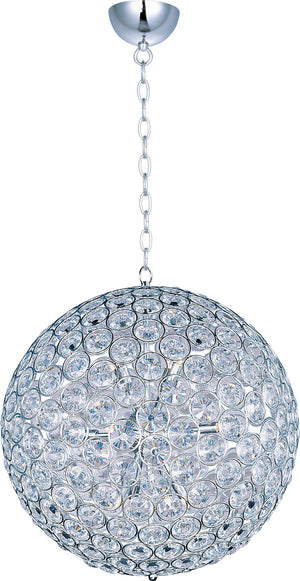 ET2 - E24017-20PC - 12 Light Pendant - Brilliant - Polished Chrome