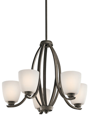 Kichler - 42557OZ - Five Light Chandelier - Granby - Olde Bronze