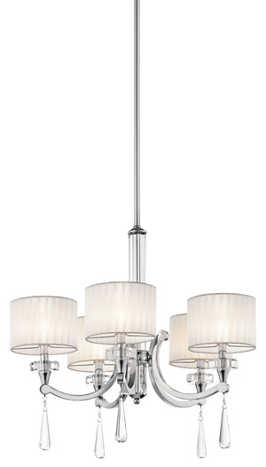 Kichler - 42631CH - Five Light Chandelier - Parker Point - Chrome