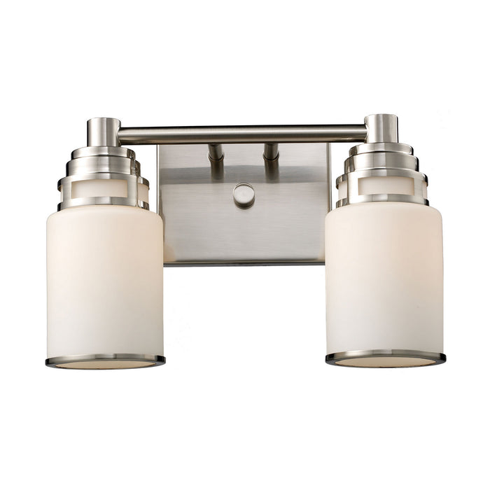"Elk Lighting Two Light Vanity 13.50"" Satin Nickel"