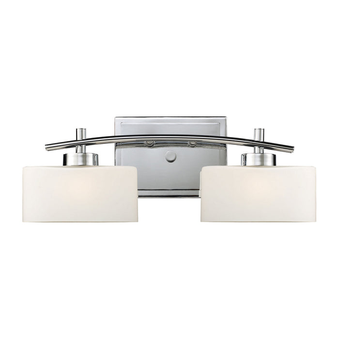 "Elk Lighting Two Light Vanity 18.00"" Polished Chrome"