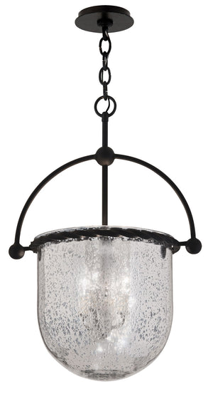 Troy Lighting - F2564 - Three Light Pendant - Mercury - Old Iron