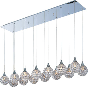ET2 - E24029-20PC - 14 Light Pendant - Brilliant - Polished Chrome