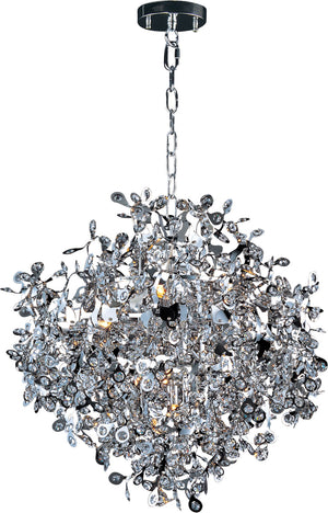 Maxim - 24205BCPC - Ten Light Pendant - Comet - Polished Chrome