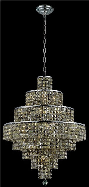 Elegant Lighting - 2039D26C-GT/RC - 18 Light Chandelier - Maxime - Chrome