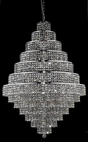 Elegant Lighting - 2039G42C-SS/SS - 38 Light Chandelier - Maxime - Chrome
