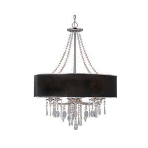 Golden - 8981-5 GRM - Five Light Chandelier - Echelon GRM - Chrome