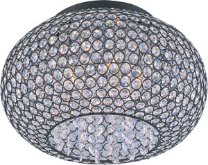 Maxim - 39875BCBZ - Five Light Flush Mount - Glimmer - Bronze