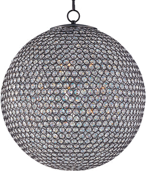 Maxim - 39887BCBZ - 12 Light Chandelier - Glimmer - Bronze