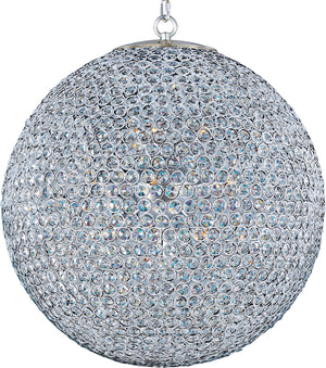 Maxim - 39887BCPS - 12 Light Chandelier - Glimmer - Plated Silver