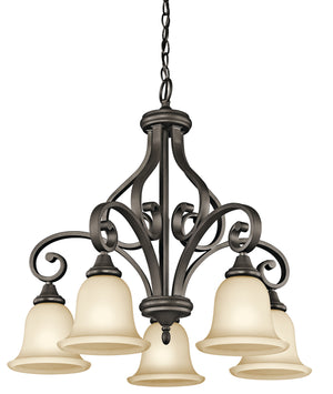 Kichler - 43158OZ - Five Light Chandelier - Monroe - Olde Bronze