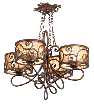 Kalco - 5414AC - 16 Light Chandelier - Windsor - Antique Copper