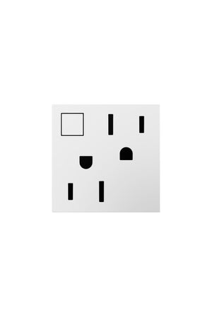 Legrand - ARPS15RF2W4 - Wi-Fi Ready On/Off Outlet, 15A - Wi-Fi Lighting System - White